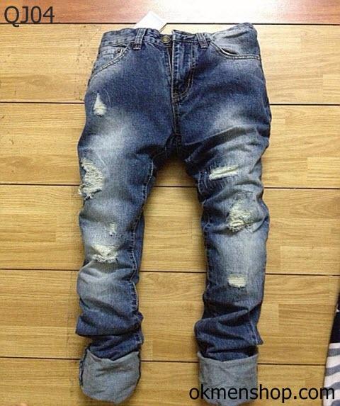 quần jean nam rách hà nội