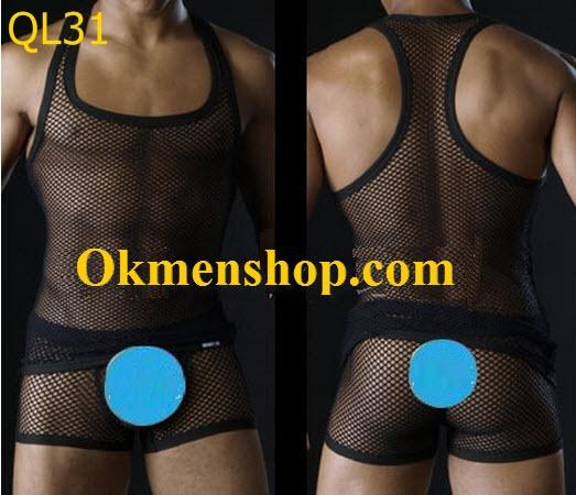 Quần áo lót lưới cho nam cực độc