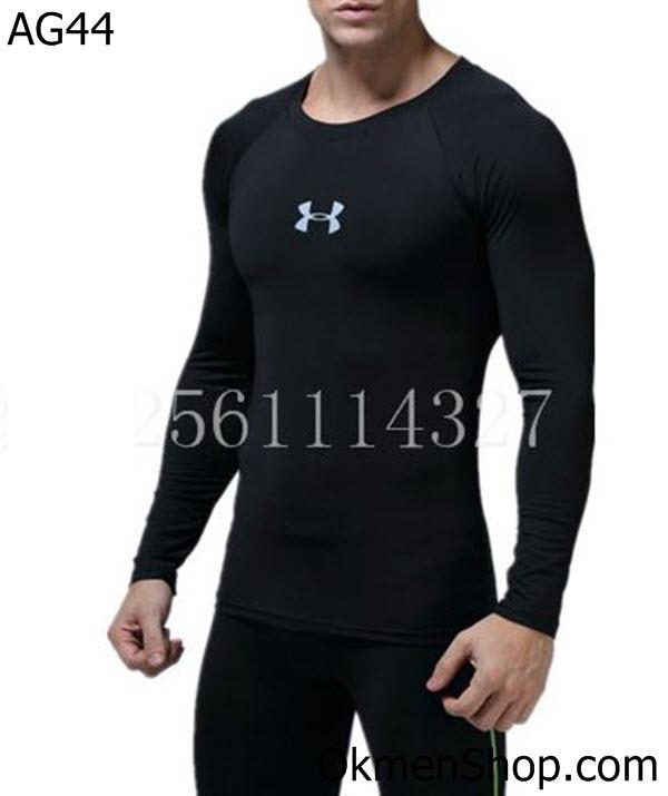Áo tập gym dài tay body cho nam