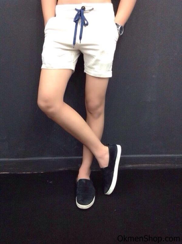 Quần short nam màu trắng