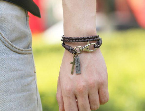 Vòng đeo tay nam nữ cuốn cổ tay
