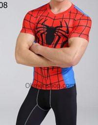 Áo gym spiderman