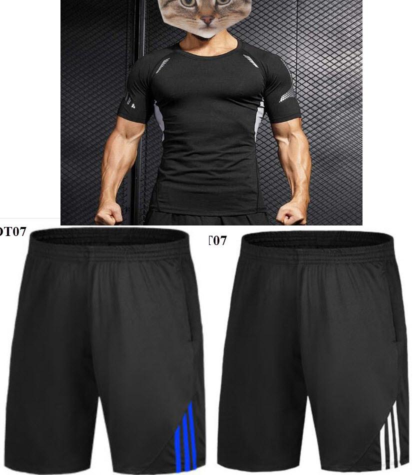 Quần áo tập gym cho người béo