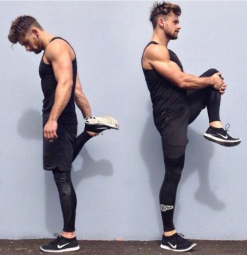 Quần short kết hợp cùng quần dài tập gym body