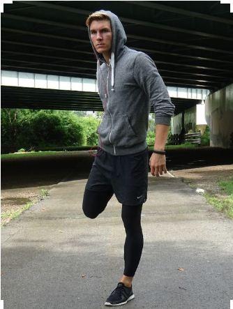 Phối quần short và quần dài body tập gym