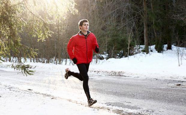 Tập gym mùa đông