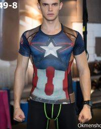 Áo captain đội trưởng siêu anh hùng