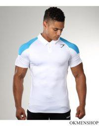 Áo phông thể hình gymshark màu trắng