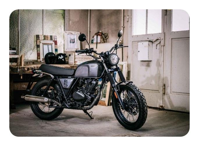 Xe mô tô cổ điển của nước Áo