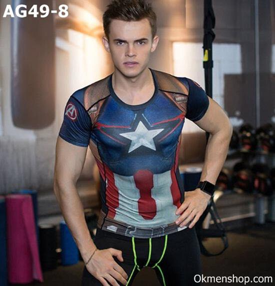Áo siêu anh hùng captain america