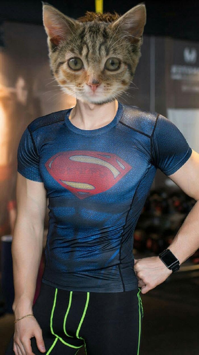 Áo marvel superman - siêu nhân