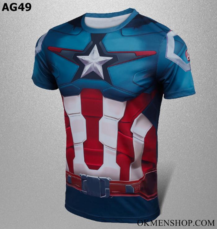 Áo marvel captain american -áo marvel đội trưởng