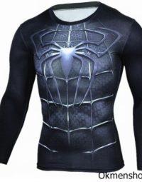 Áp người nhện spiderman dài tay