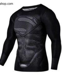 Áo superman dài tay