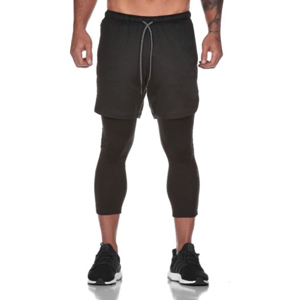 Quần legging nam dài đến bắp chân