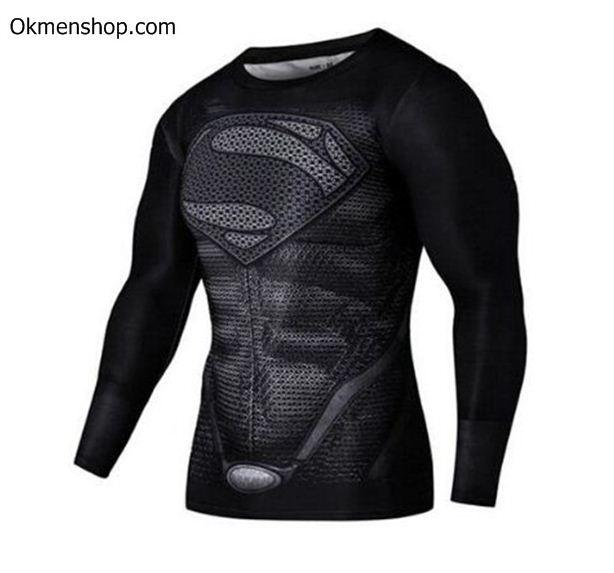 Áo siêu anh hùng superman dài tay