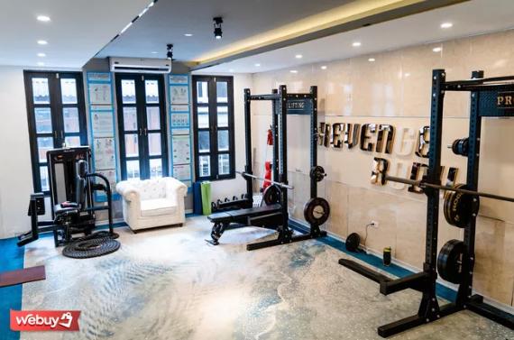 Phòng gym 36 triệu 1 tháng