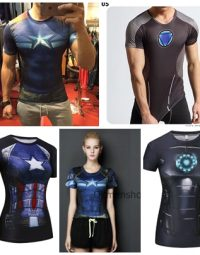 Áo gym siêu anh hùng